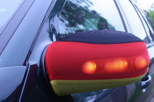 Auto Aussenspiegel flagge fahne deutschland wm 2010