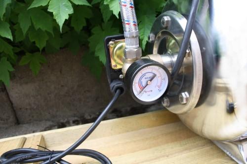 hauswasserwerk 24 l inox kessel und inox pumpengeh use ebay. Black Bedroom Furniture Sets. Home Design Ideas